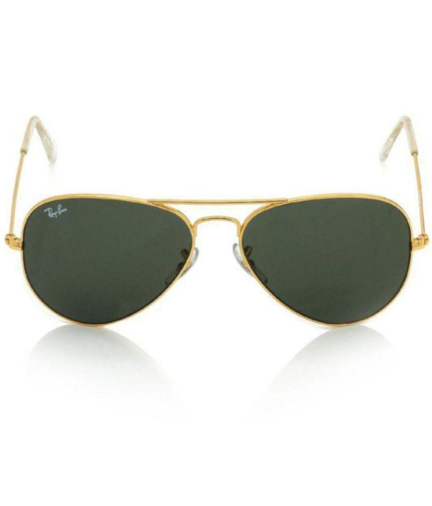 56a71106e2910 Ray Ban Avaitor Green Aviator Sunglasses ( RB 3025 ) - Buy Ray Ban Avaitor  Green Aviator Sunglasses ( RB 3025 ) Online at Low Price - Snapdeal