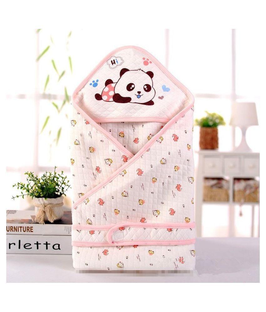 Qq Baby Multi-Colour Cotton Sleeping Bags ( 80 cm × 80 cm)