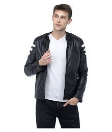 a693a6cd8 Leather Mens Jackets  Buy Leather Mens Jackets Online at Low Prices ...