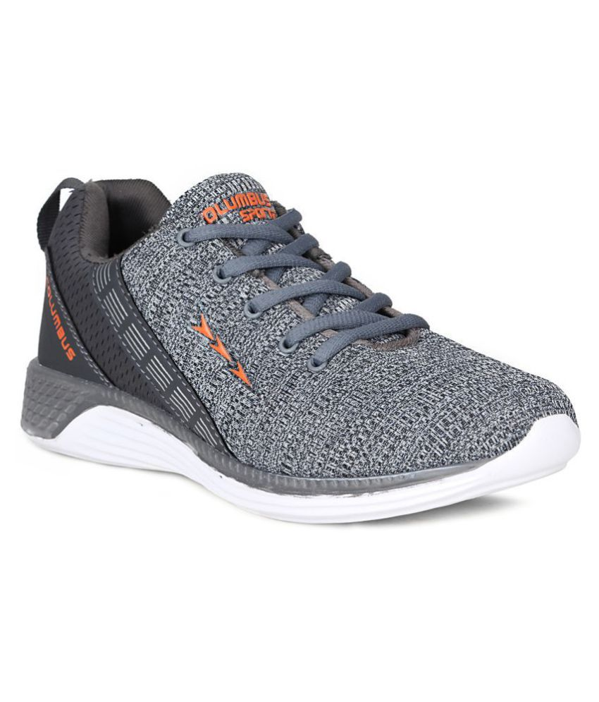 Columbus Gray Running Shoes