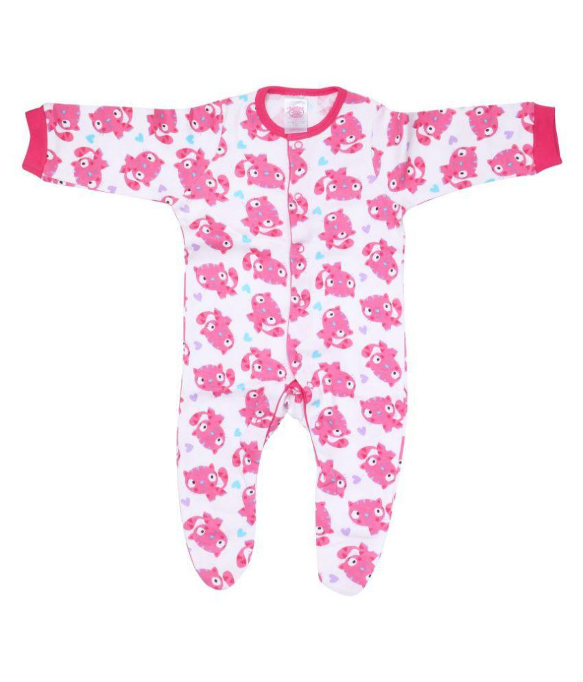 INFANT/TODDLER/BABIES/NEW BORN'S 100% COTTON SLEEPSUIT FOR EXTRA COMFORT AND ALL DAY LONG