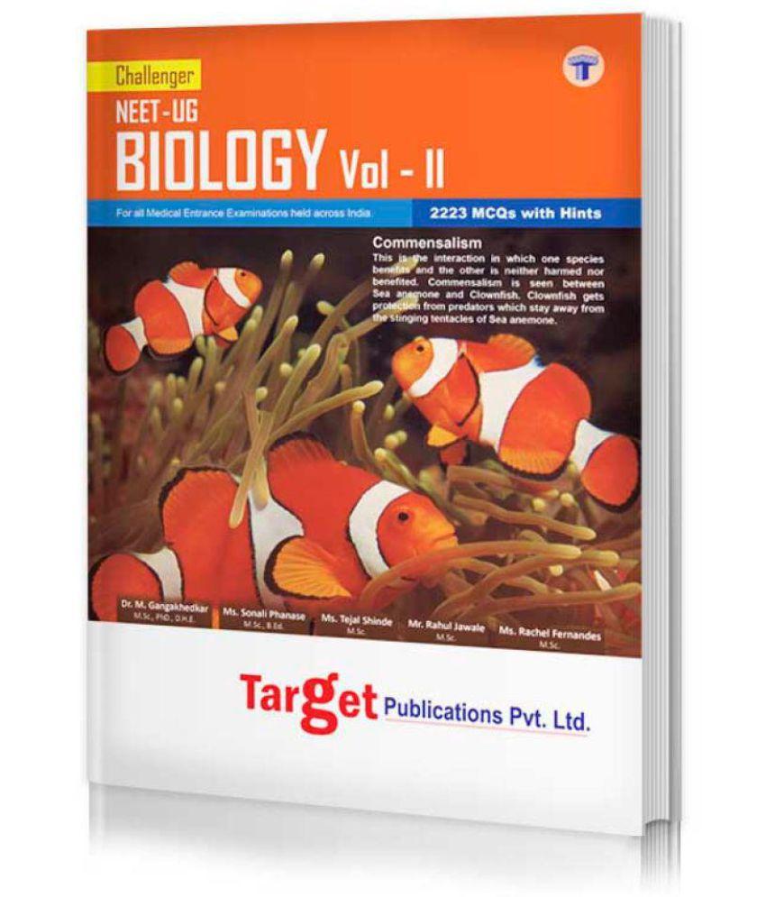 NEET-UG Challenger Biology Vol. - 2
