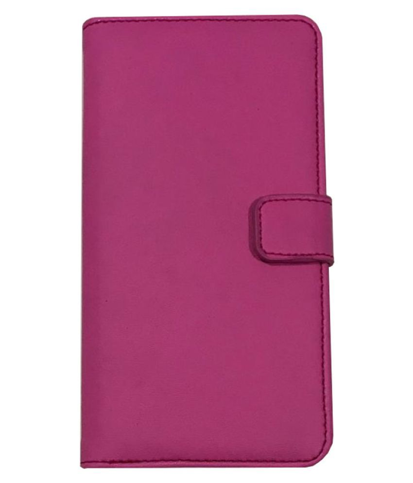sports shoes e4363 9b802 Samsung J2 2017 Flip Cover by Lomoza - Pink