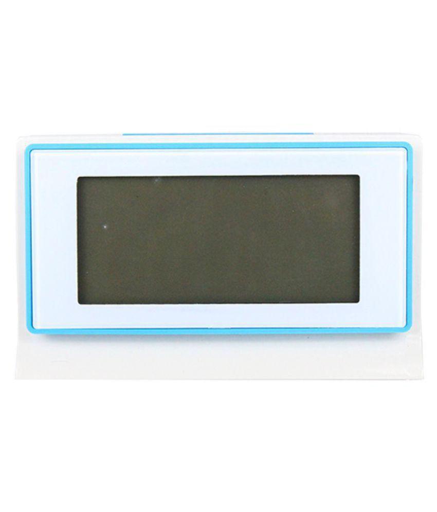 Squre Shape voice controler clock with Temperature