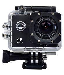 WILES Waterproof Sports Action Camera - 4K Ultra HD 1920 x 1080 (Full HD): 30p / 25p / 24p) MP Video Camera