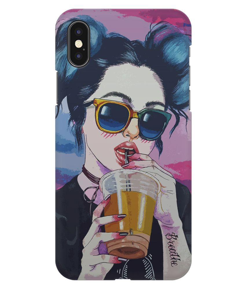 Apple Iphone XS Printed Cover By Motivatebox Printed designer back cover for your phone