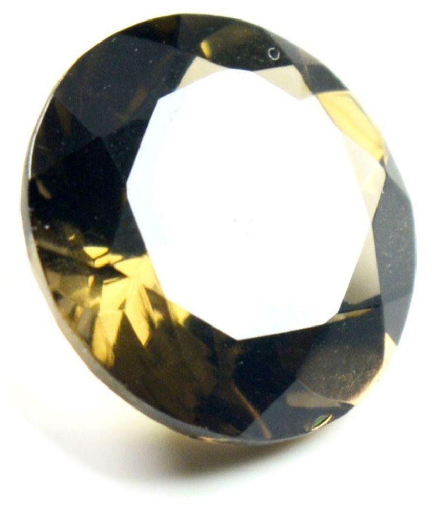 Jewelryonclick 7 -Ratti Self certified Brown Smoky Quartz Semi-precious Gemstone