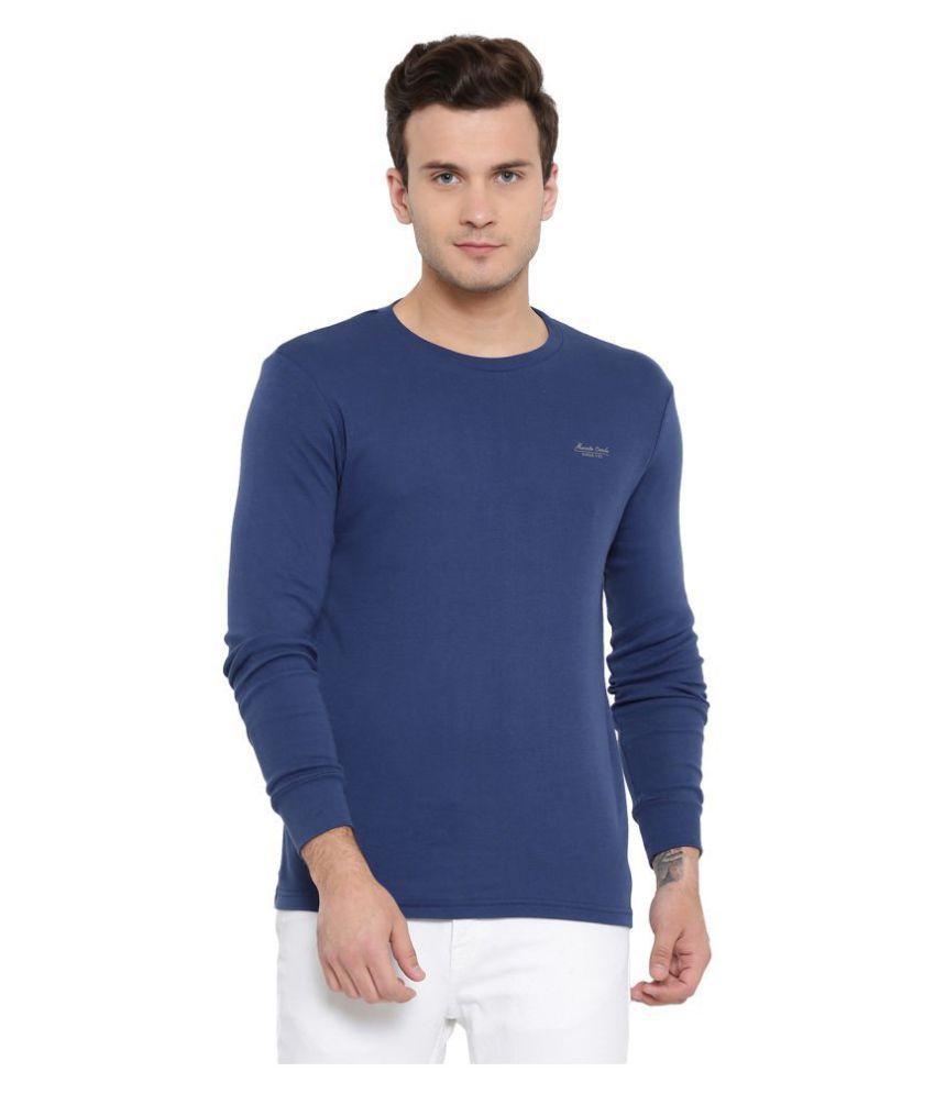 Monte Carlo Blue Full Sleeve T-Shirt