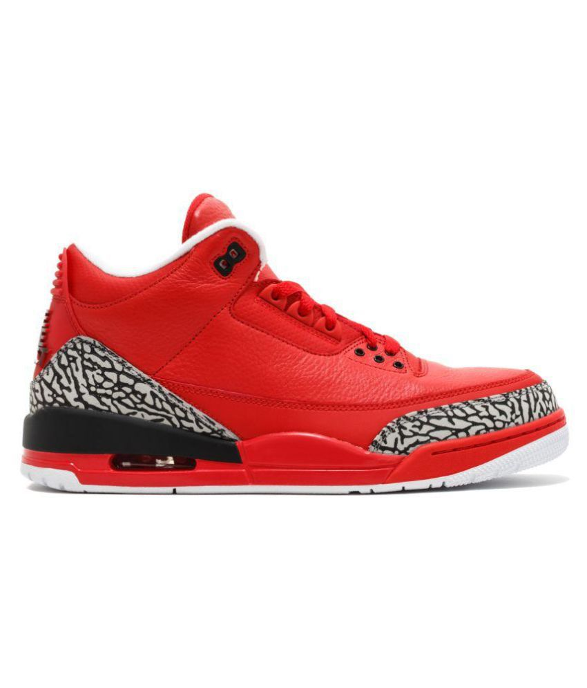 Nike Retro 3 Red Basketball Shoes Buy Nike Retro 3 Red Basketball Shoes Online At Best Prices In India On Snapdeal