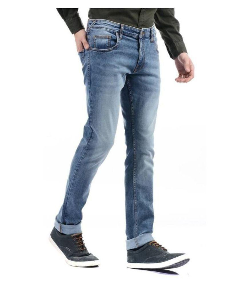 Pepe London Blue Regular Fit Jeans