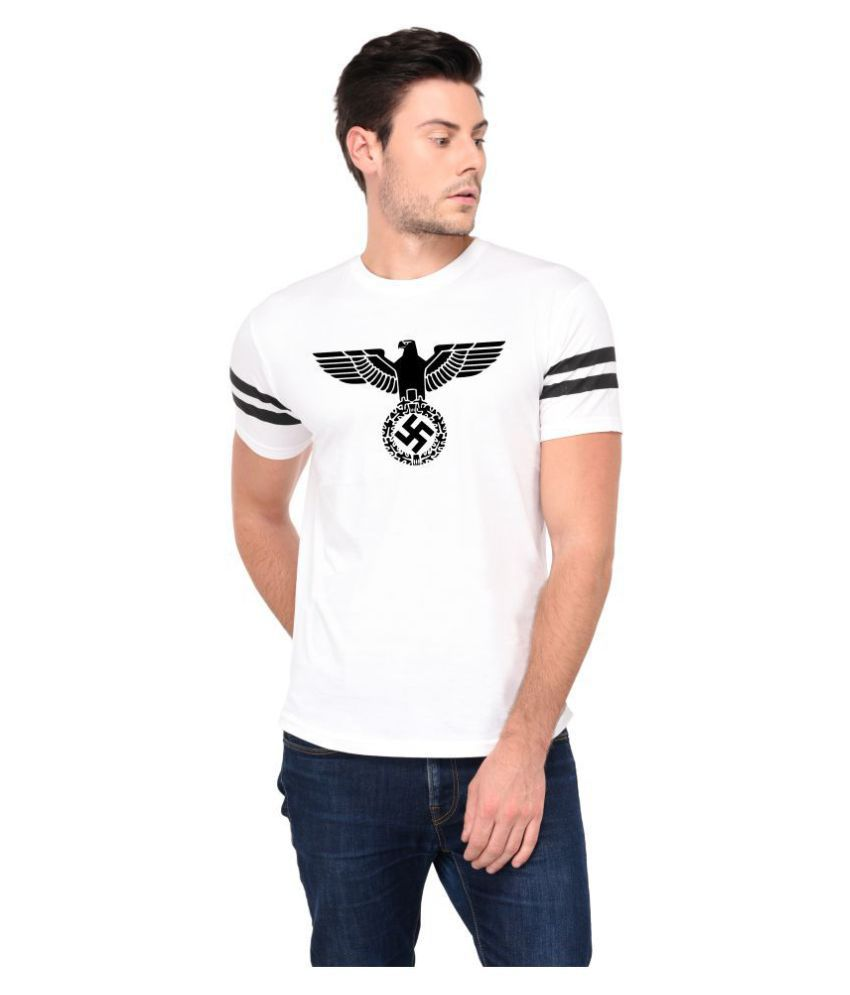 Trends Tower White Half Sleeve T-Shirt