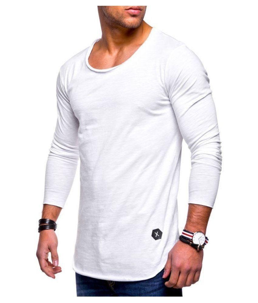 Destiny White Cotton Blend T-Shirt Single Pack
