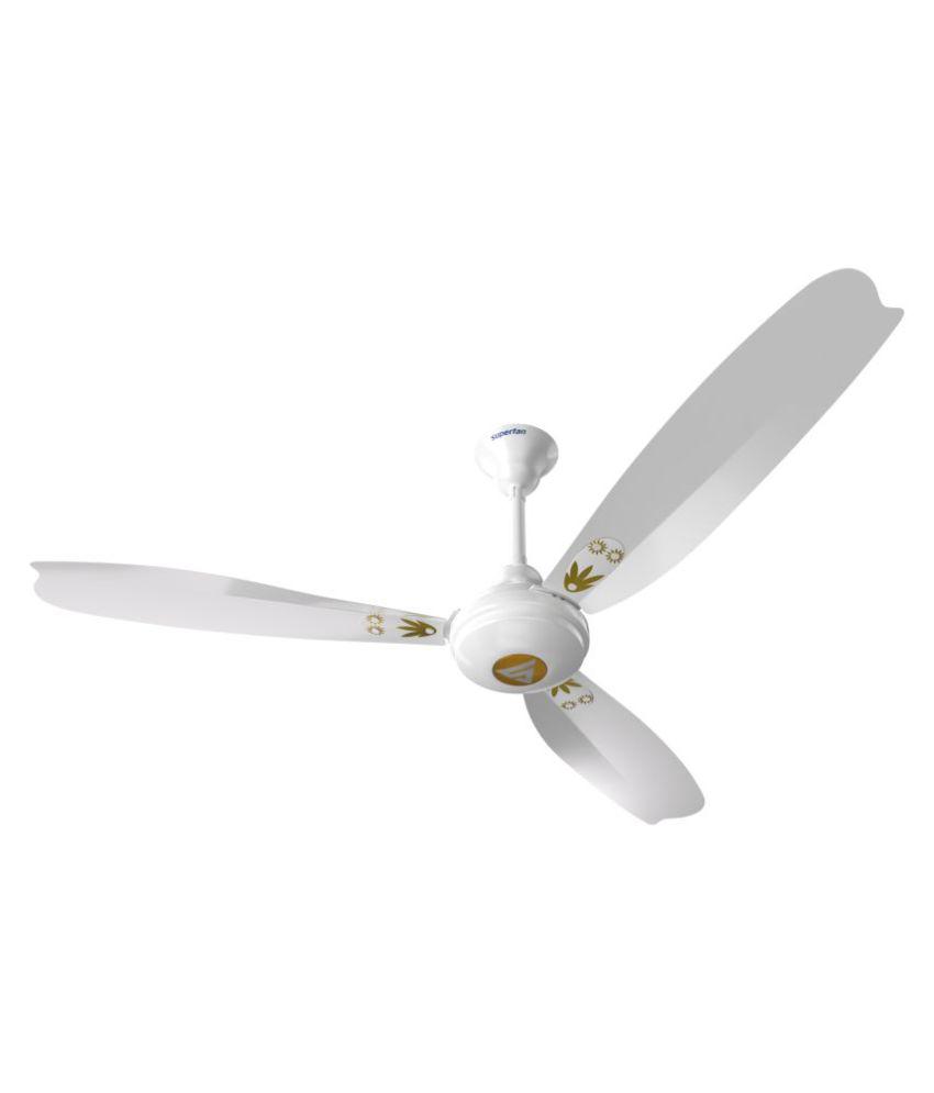 Superfan 1200 Super A1 Ceiling Fan Grey Price In India