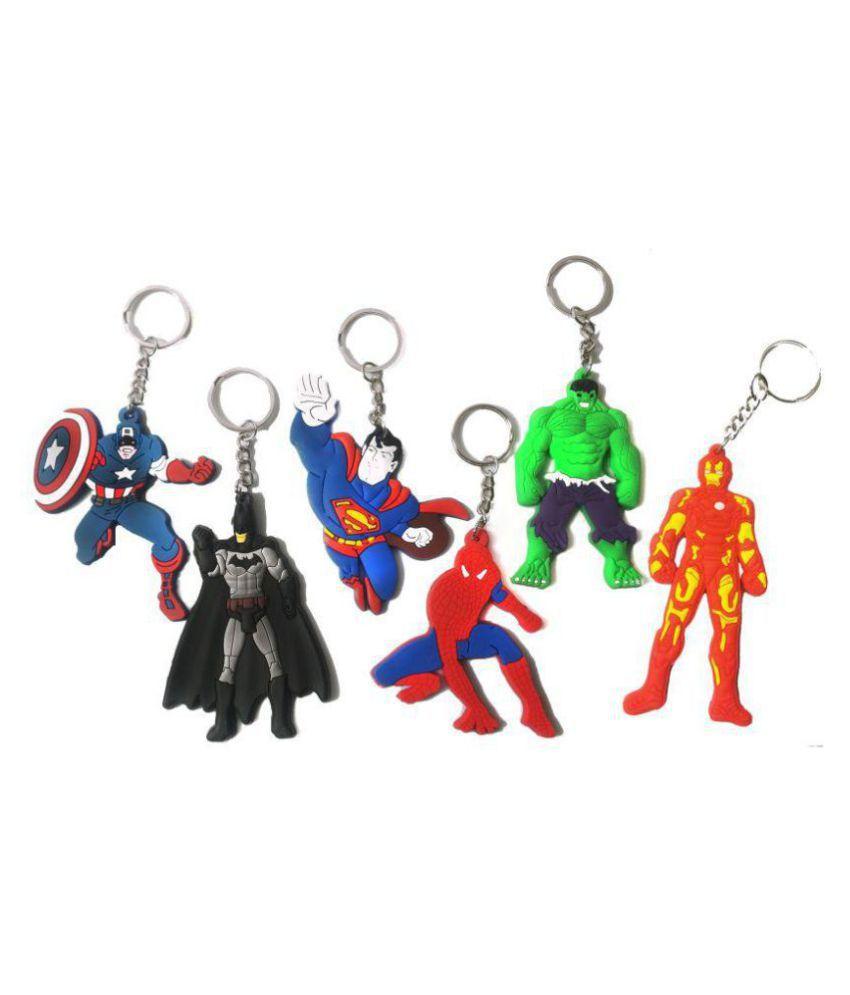 Marvel Avengers Infinity War Set Of 6 Pcs. Captain America 57f22c3c2b