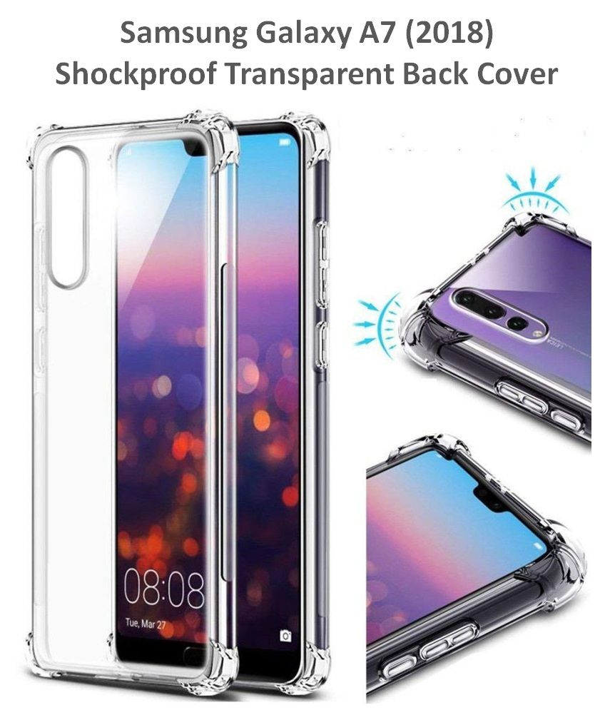 Samsung Galaxy A7 2018 Plain Cases Spectacular Ace - Transparent