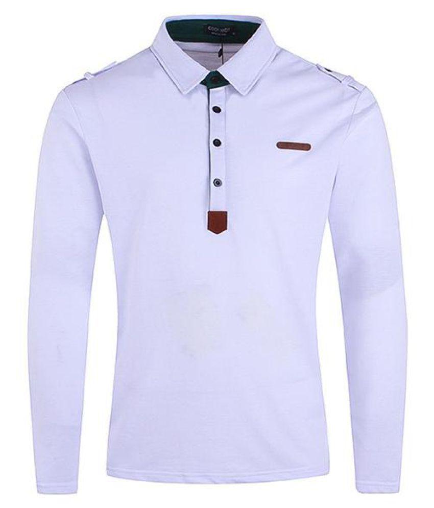 0c8611ce9489 Mens Stylish Epaulets Design Golf Shirt Solid Color Slim Fit Long Sleeve  Casual T Shirt - Buy Mens Stylish Epaulets Design Golf Shirt Solid Color  Slim Fit ...