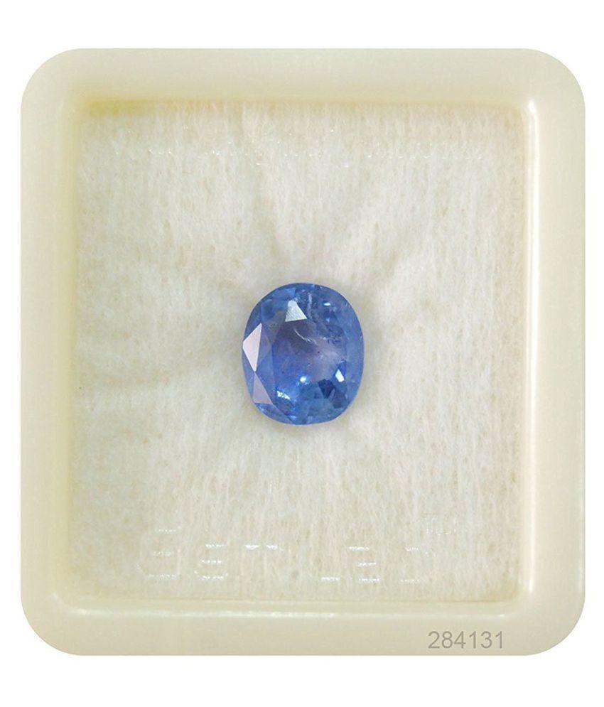 A1 Gems 8 - 8.5 -Ratti Self certified Blue Sapphire (Neelam)