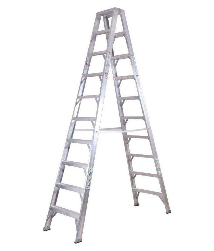 10 Feet Liberti Aluminium Twin Step Ladder: Buy 10 Feet