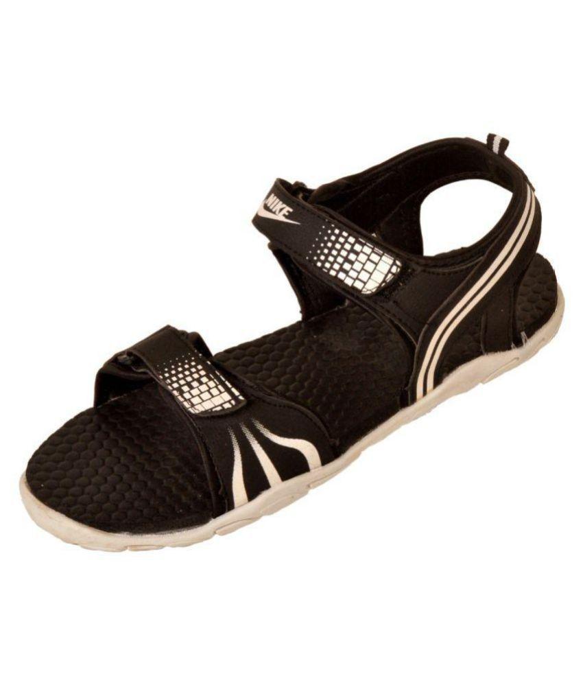 cc9023e7e875 Nike Black Eva Floater Sandals - Buy Nike Black Eva Floater Sandals Online  at Best Prices in India on Snapdeal