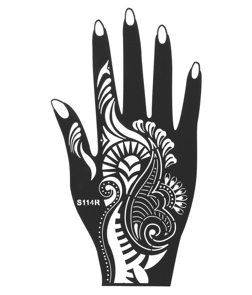 1pcs India Henna Temporary Tattoo Stencils For Hand Leg Arm Feet Body Art Decal Buy 1pcs India Henna Temporary Tattoo Stencils For Hand Leg Arm Feet Body Art Decal At Best Prices