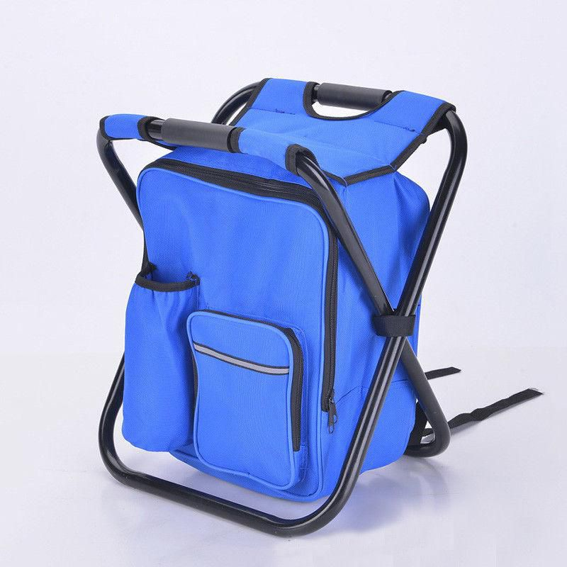 Hiking Fishing New Fashion Outdoor Multi-function Foldable Chair Backpack For Traveling Camping