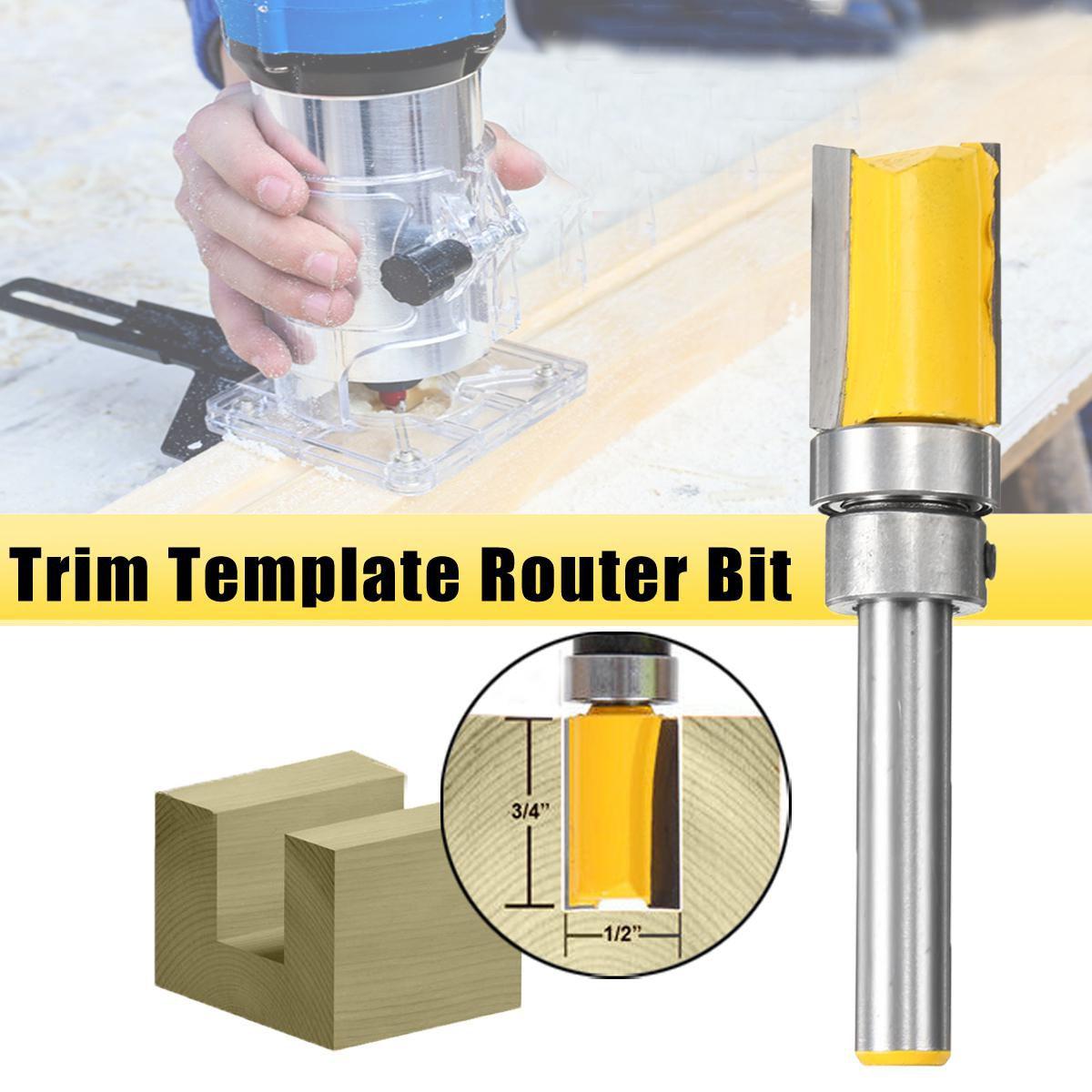 12 Diameter Flush Trim Template Router Bit 14 Shank