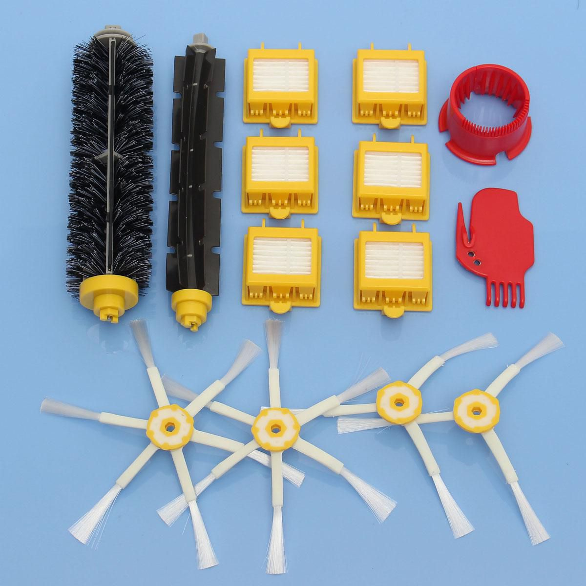 Filters Brush Pack Big Kit for iRobot Roomba 700 Series 3/6 Armed 760 770 780
