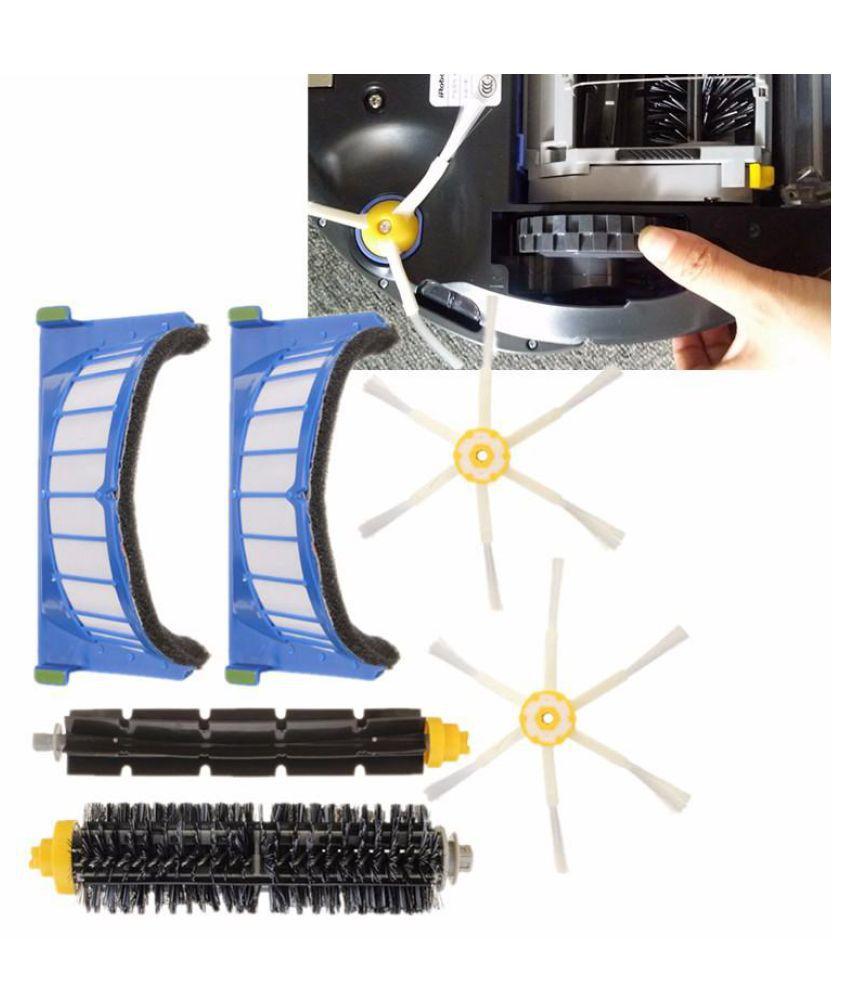 AeroVac filtro & 3/6 cepillos Kit for iRobot Roomba 600 Series 620 630 650 660