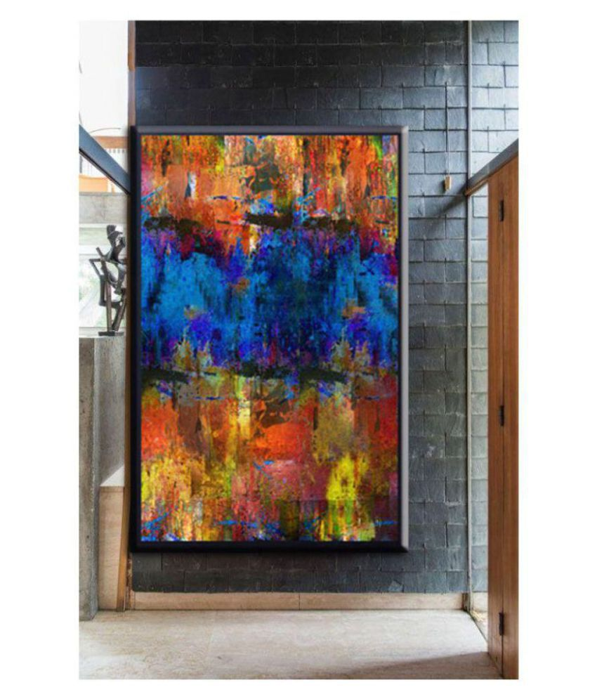 Antaram Designs Abstract wall arts Canvas Painting Without Frame