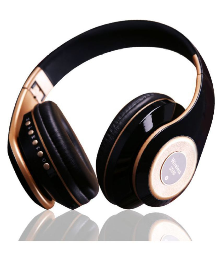 Feezer S930 Bluetooth 4.1 Extra Bass FM/TF Card Over Ear Wireless With Mic Headphones/Earphones
