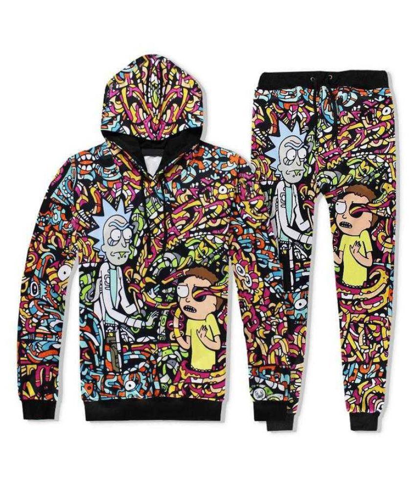 Fashion Women/Mens Cartoon 3D Print Casual Hoodies Sweatshirt or Pants