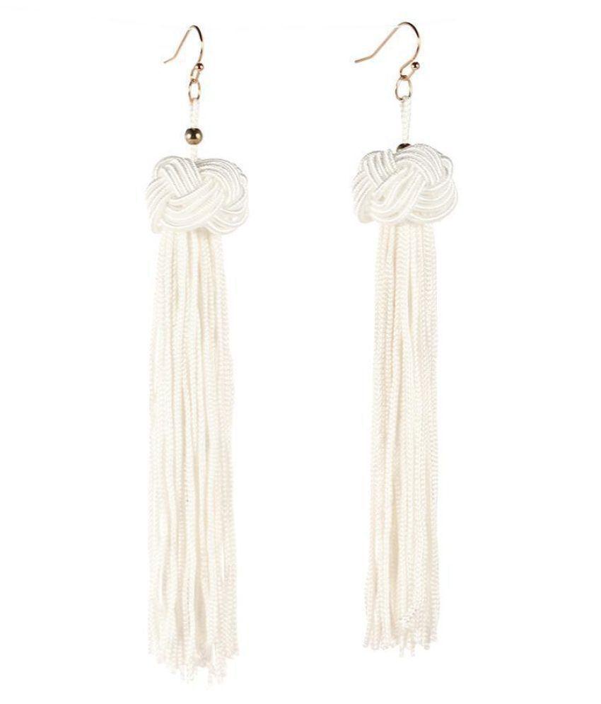 Women Bohemian Style Earrings Jewelry Trendy Tassel Charm Wedding Gift