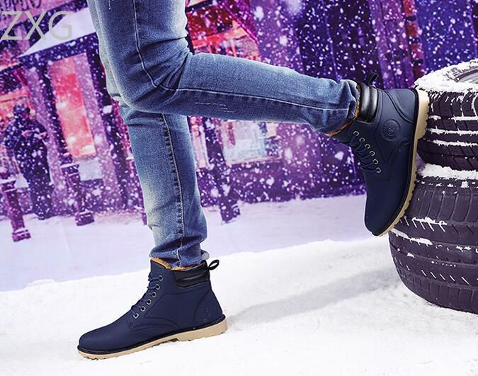 Niti Blue Snow Boot