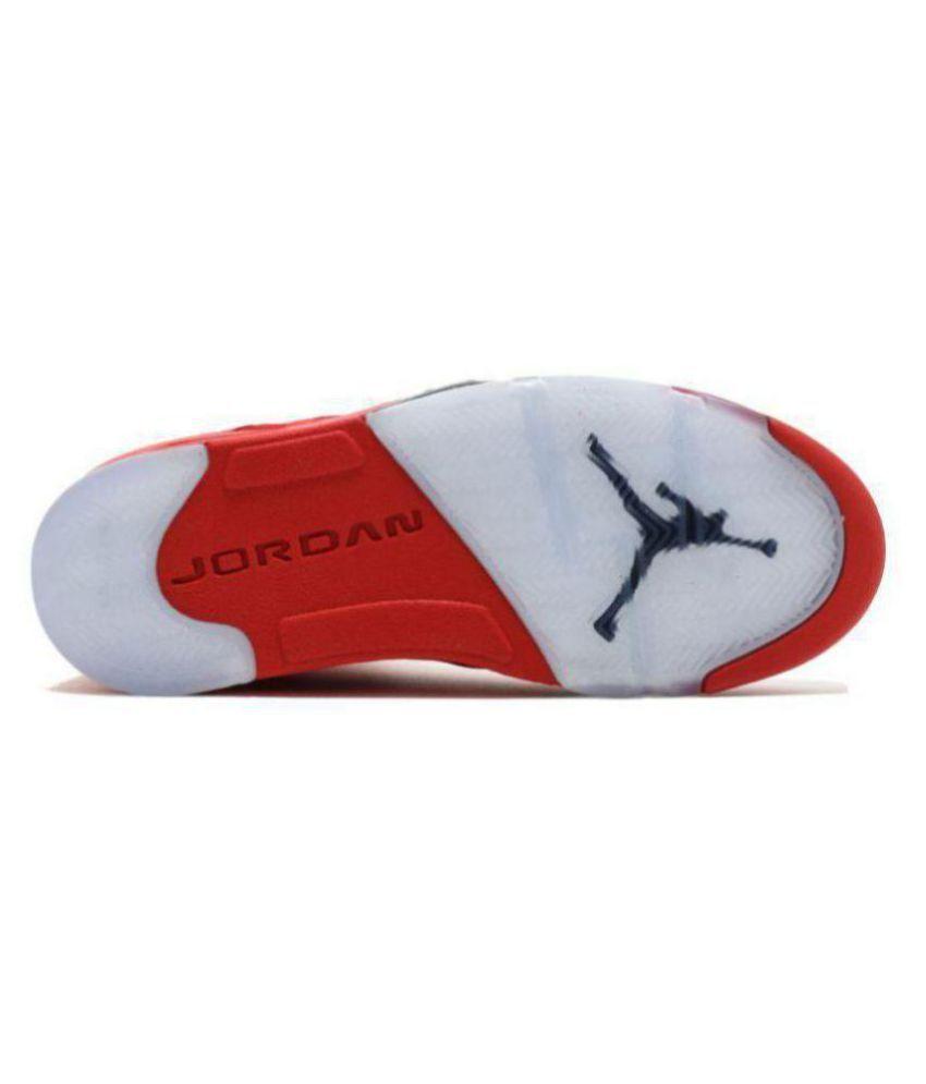eed82d82c2aa Nike AIR JORDAN 5 RETRO NEW Red Basketball Shoes - Buy Nike AIR ...