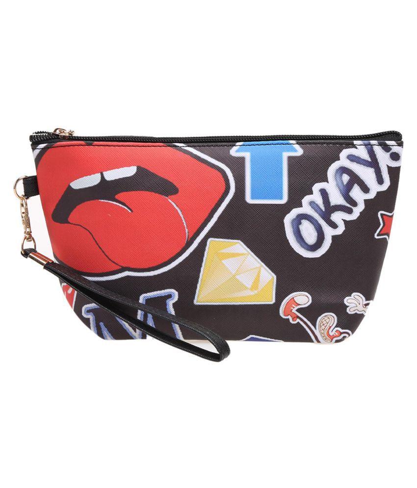 Fashion Women Print Toiletry Makeup Bag Travel Organizer Storage Pouch Clutch Bag