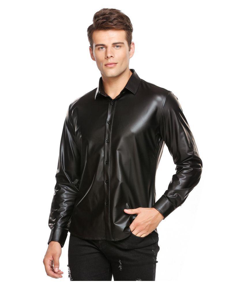 c7554610bdb14 Men Nightclub Long Sleeves Button Down Dress Shirt - Buy Men ...