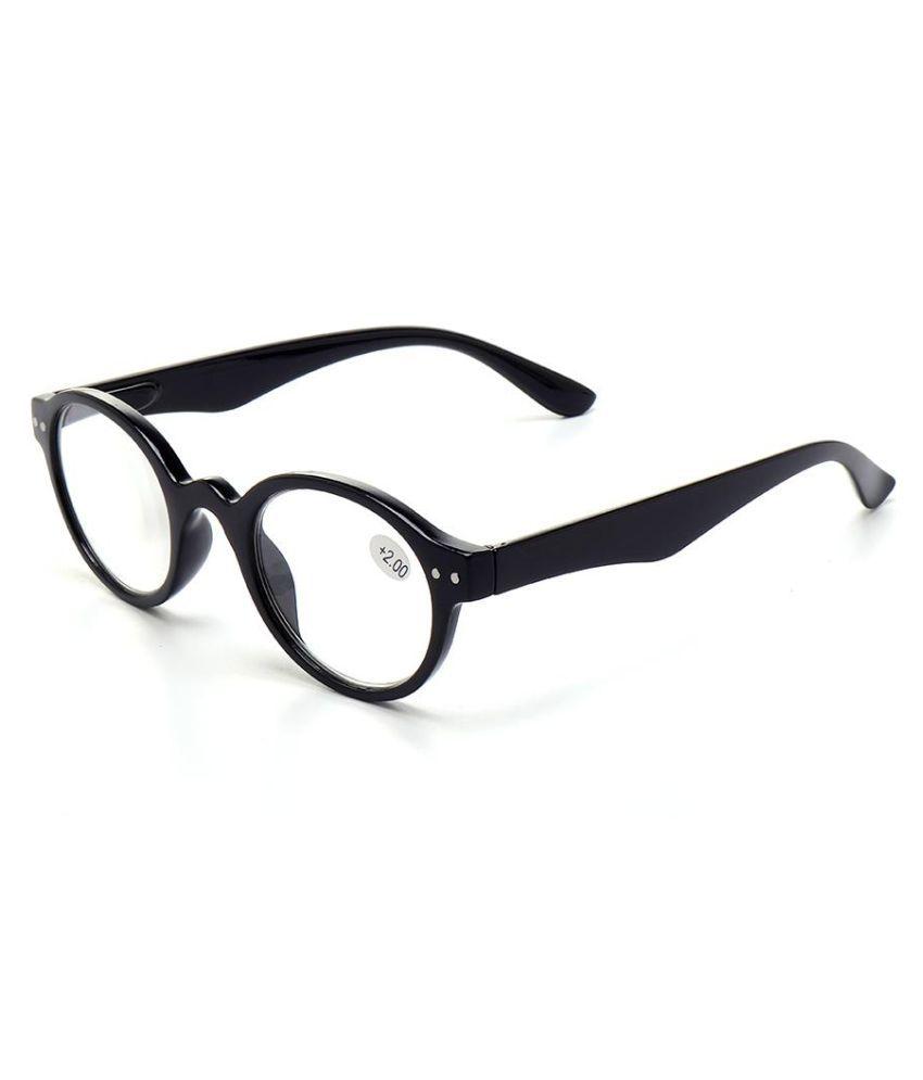 Women Men Retro Reading Glasses Fashion Wear-resistant Computer Circular Presbyopic Glasses