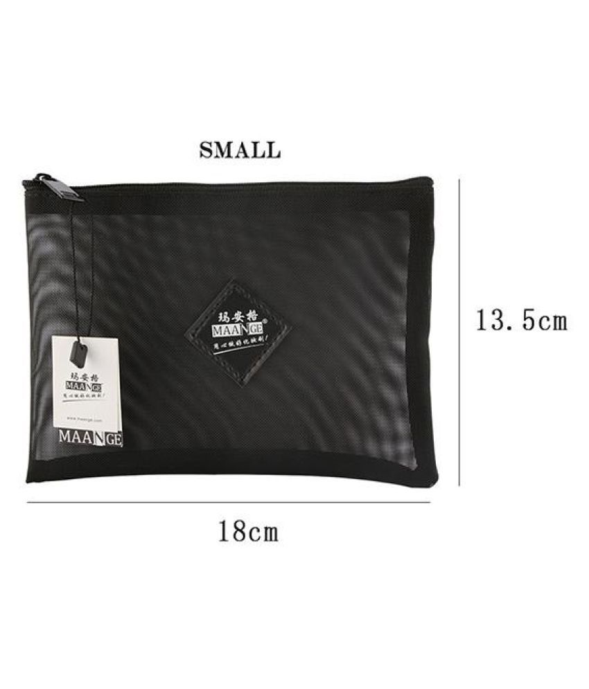Women Mesh Makeup Bag Cosmetic Make Up Organizer Toiletry Travel Wash Pouch
