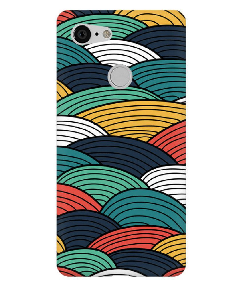 Google Pixel 3 Printed Cover By FusionGear Hard Plastic Designer Phone Case