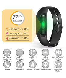 M3 Fitness Watch Sport Wristband Activity Tracker Heart Rate Monitor, Sleep Monitor, Step Counter, Calorie Counter, Pedometer Men Women Kids