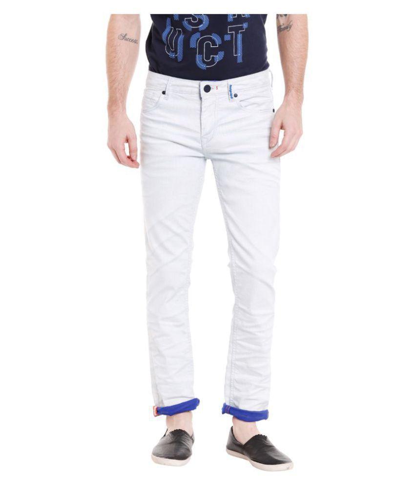 Killer White Slim Jeans