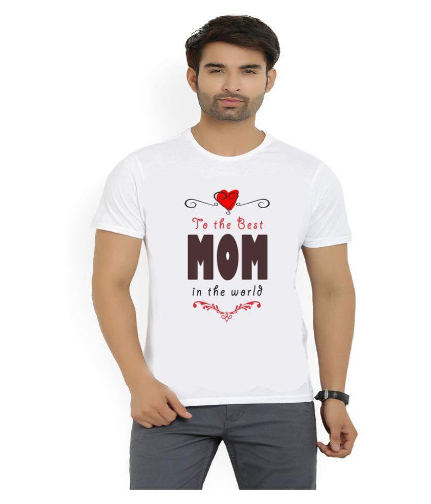 Misty White Polyester T-Shirt Single Pack
