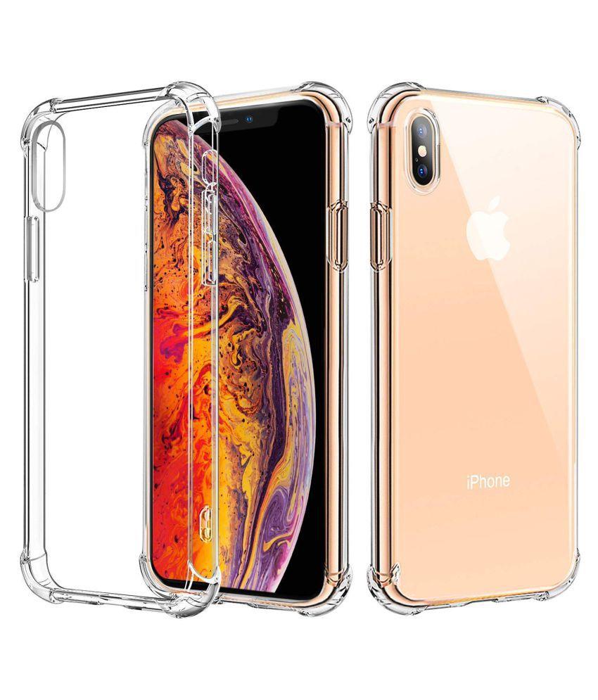 Apple iPhone X Plain Cases REGLET - Transparent