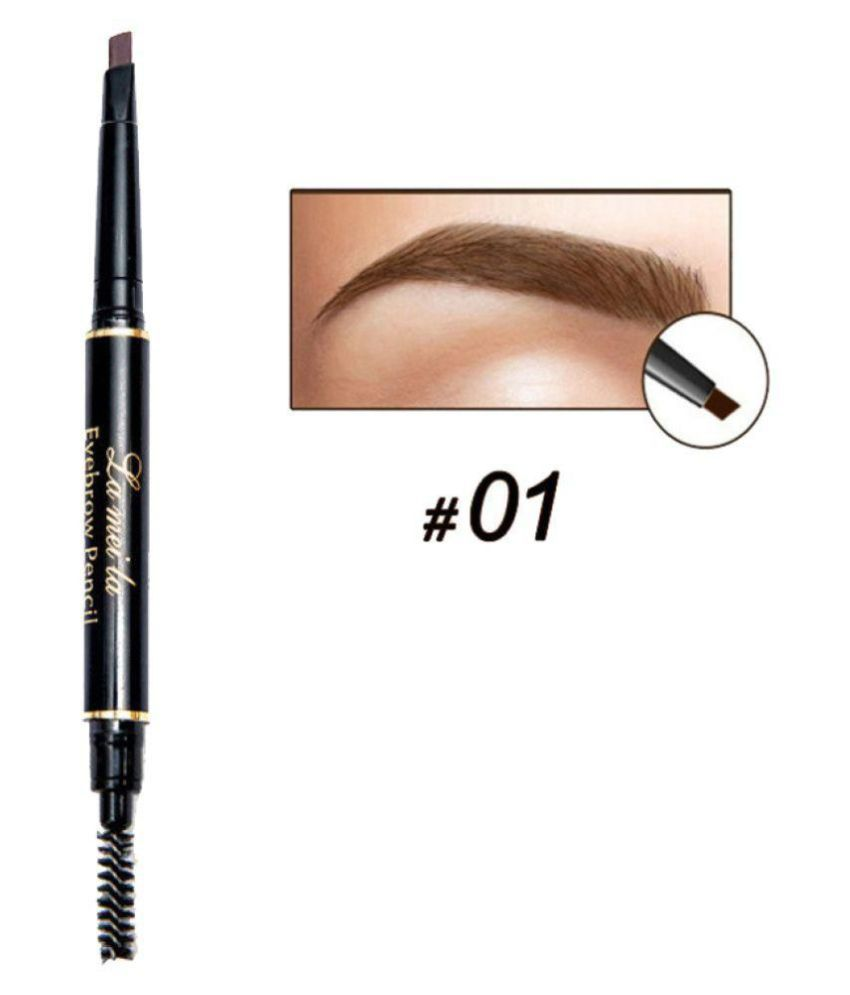LAMEILA Eyebrow Pencil With Brush Enhancer (2 in 1)