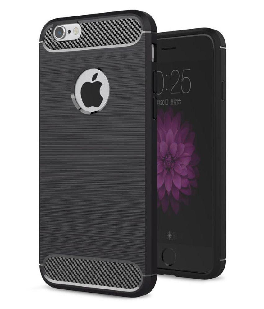 Apple iPhone 6S Plain Cases Spectacular Ace   Black