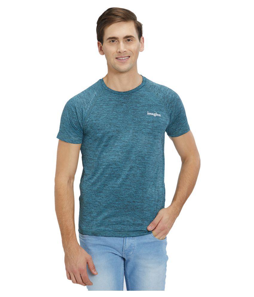 Imagica Blue Half Sleeve T-Shirt