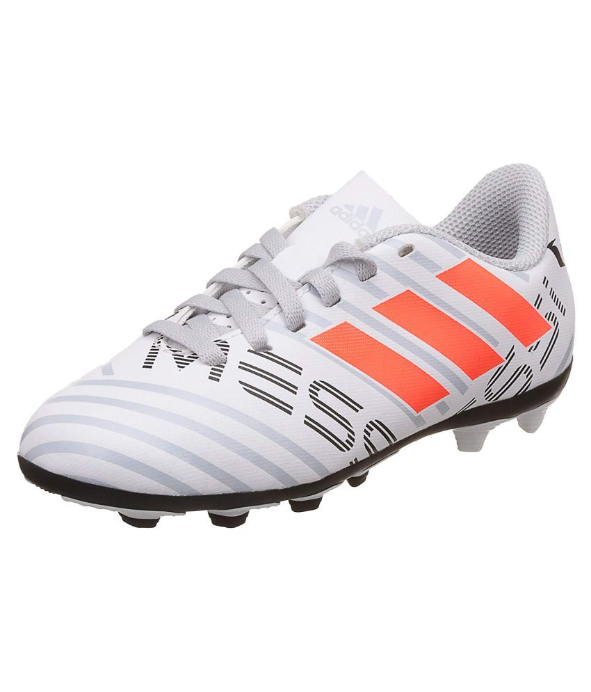7f8c753e6a3 Adidas Boys NEMEZIZ MESSI 17.4 FXG J Printed Football Shoes Price in India- Buy  Adidas Boys NEMEZIZ MESSI 17.4 FXG J Printed Football Shoes Online at ...