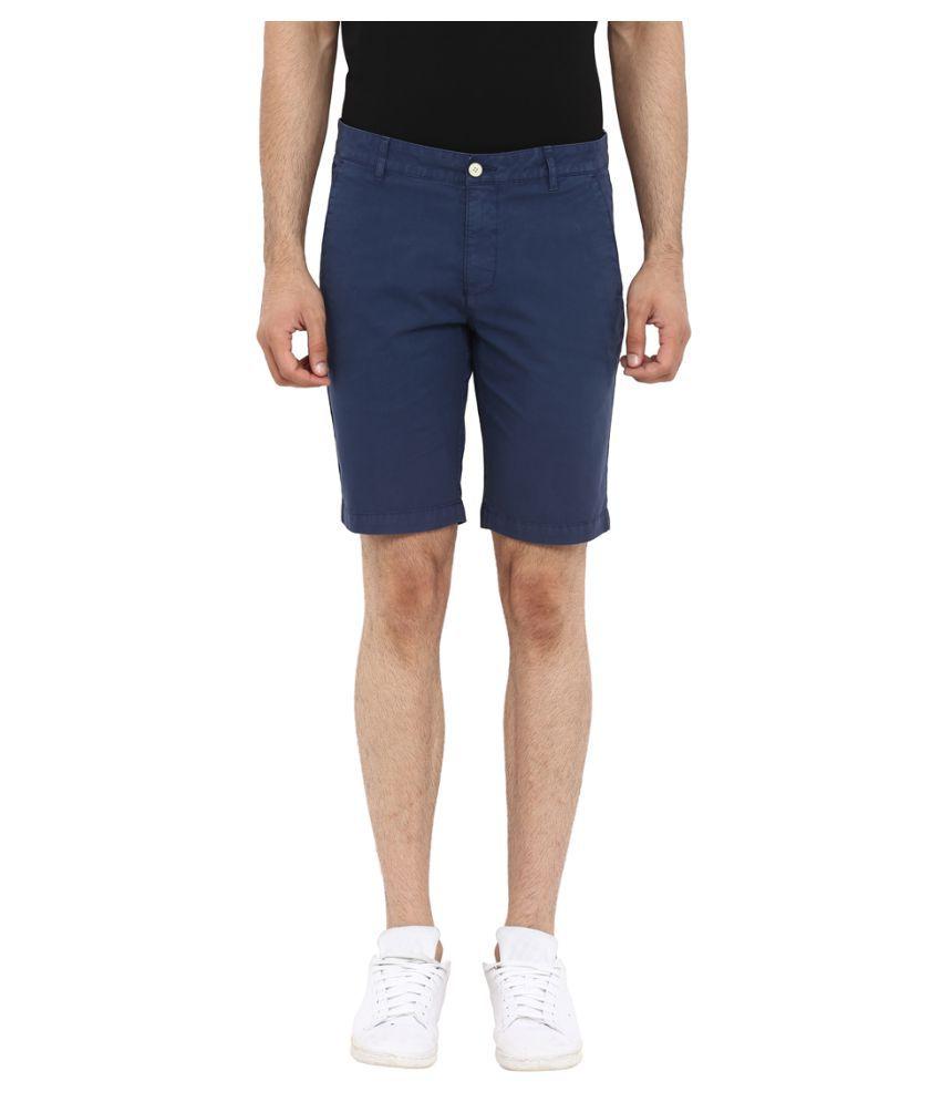 Park Avenue Blue Shorts
