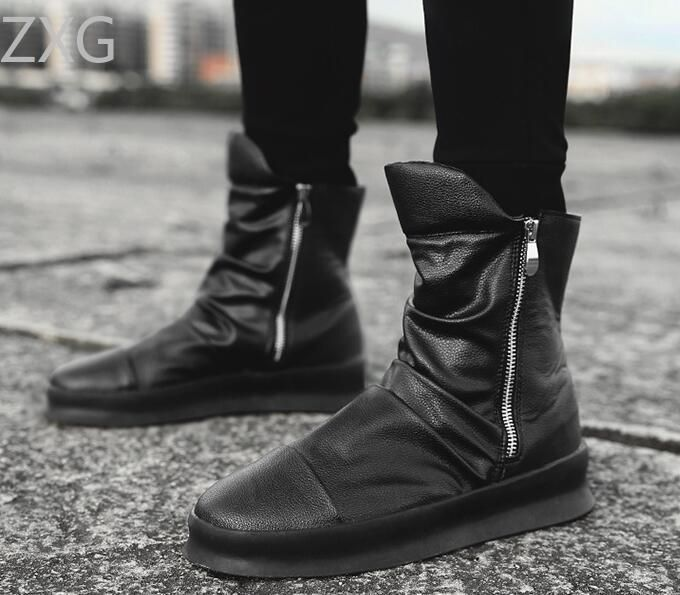 Niti Black Casual Boot