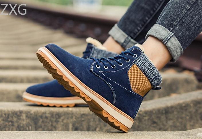 Niti Blue Casual Boot